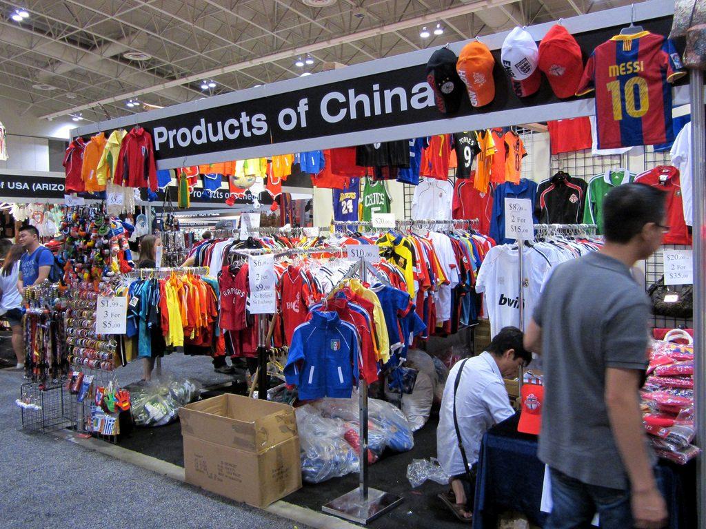 barang impor dari China